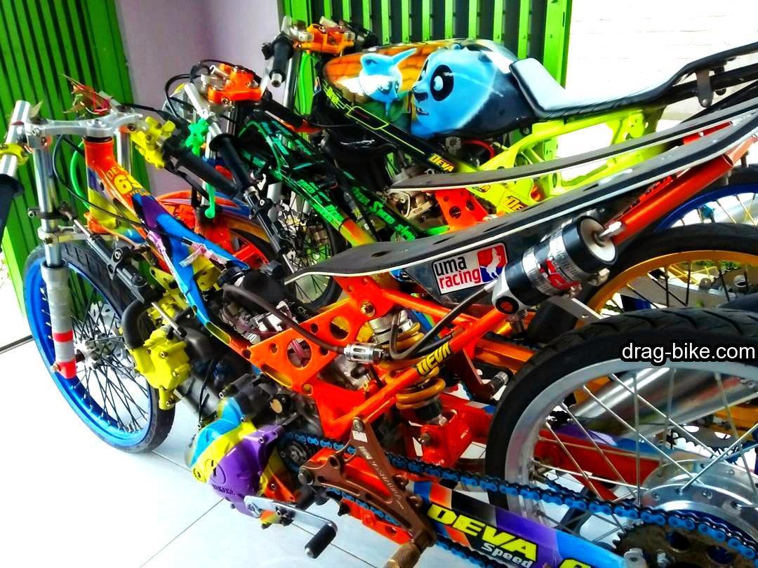 Modifikasi Motor Mx 135