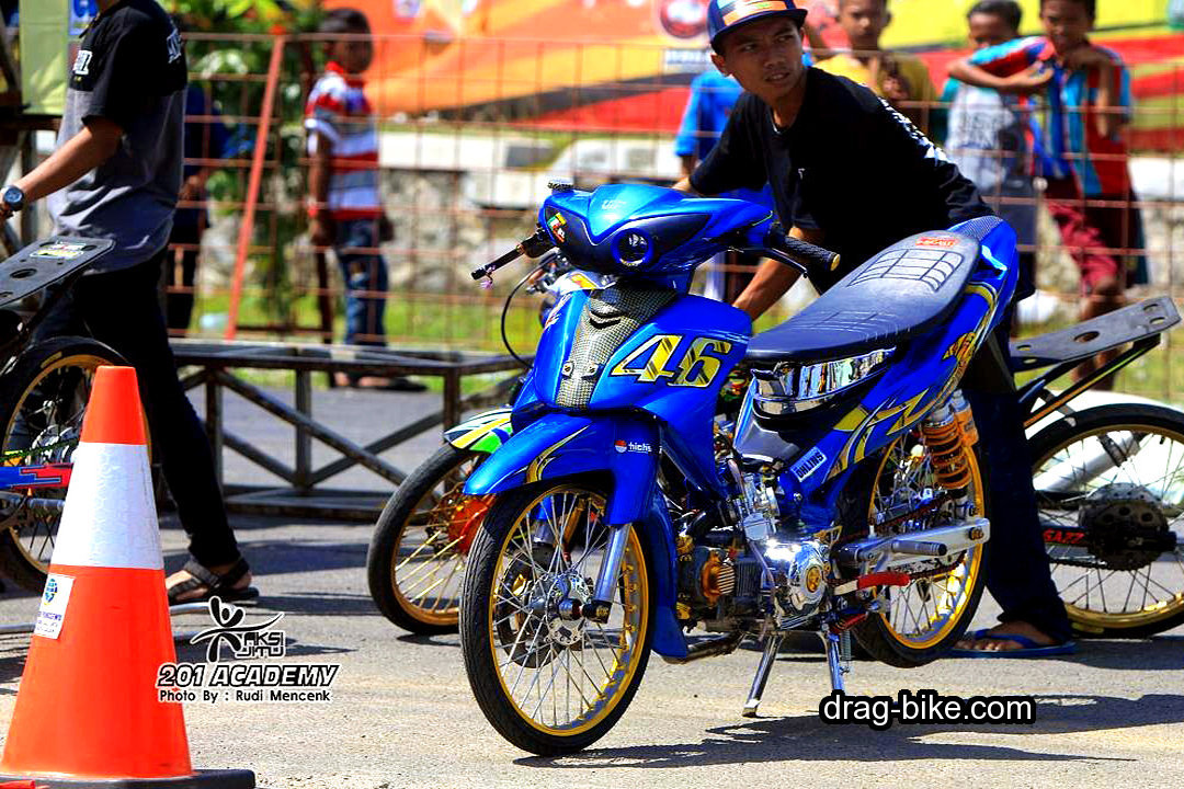 Motor Drag Jupiter Z Modifikasi