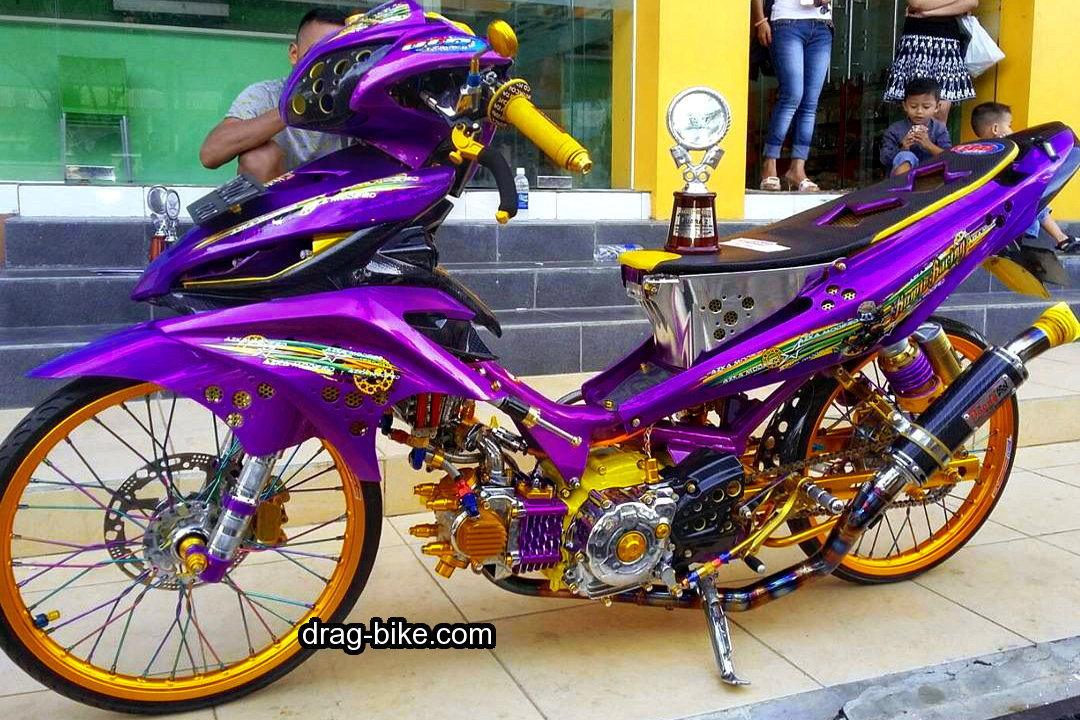 Motor Jupiter Modifikasi Kontes