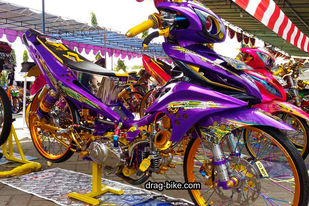 Motor Jupiter Modifikasi Racing Look