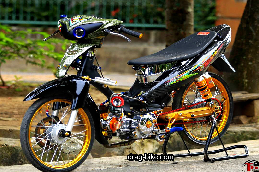 Motor Jupiter Modifikasi Standar