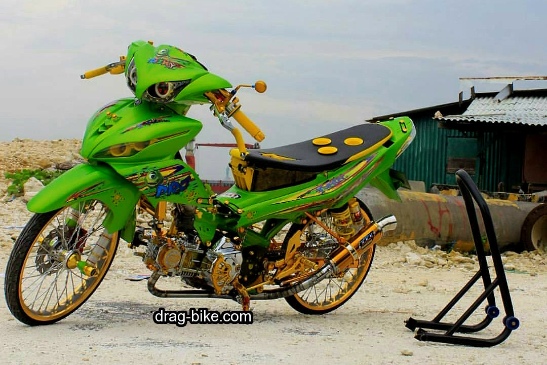 Motor Jupiter Modifikasi Street Racing