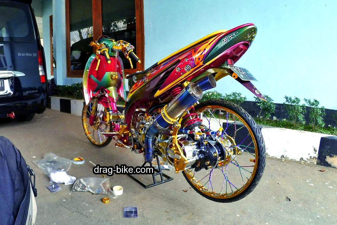 Honda Vario Modifikasi Thailook Racing