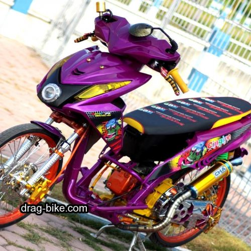 Modif Honda Beat Fi Street Racing