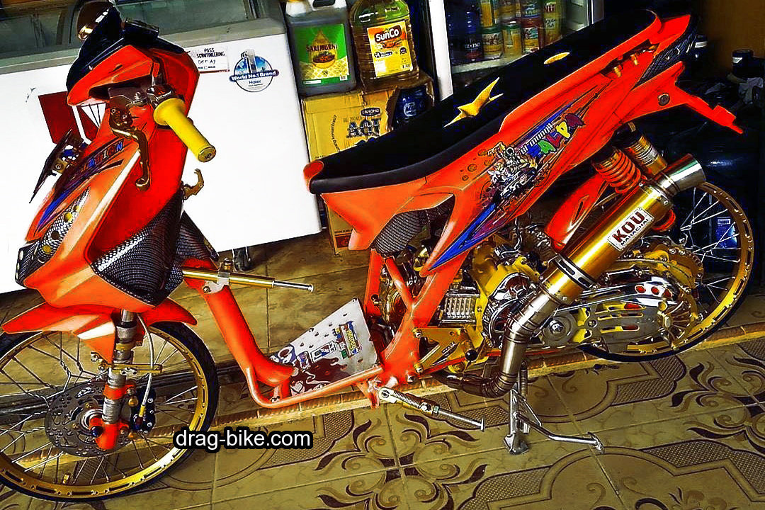 Modifikasi Beat Thailook Street Racing