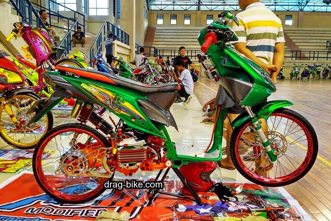 Modifikasi Kontes Motor Honda Beat Street Racing