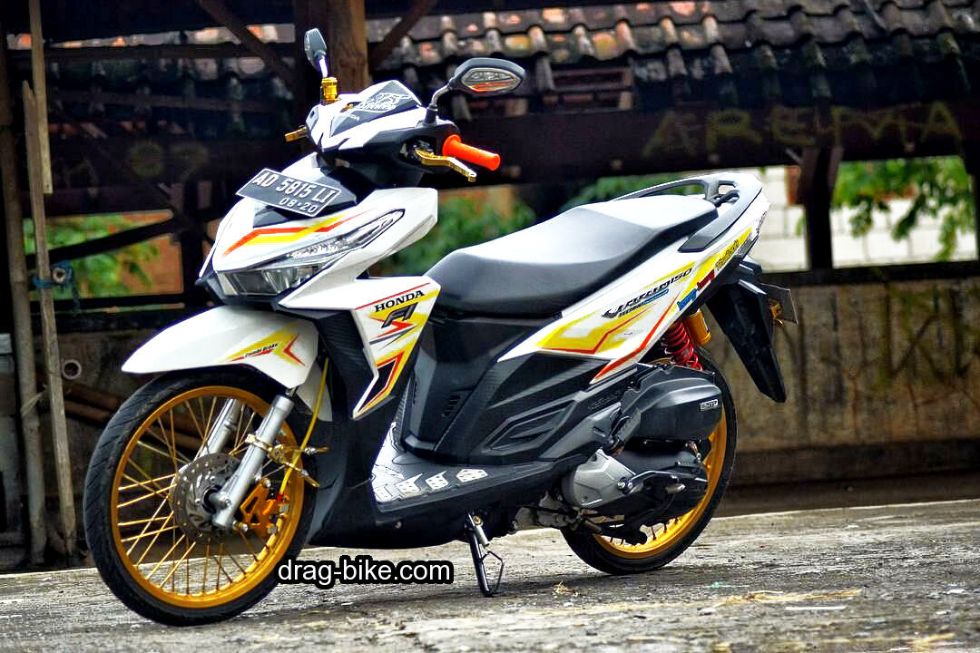 Modifikasi Motor Vario 125 Ring 17 Jari Jari
