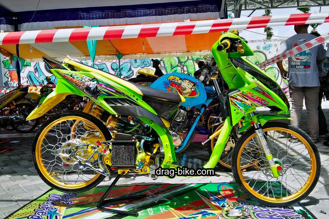 Modifikasi Motor Vario Techno 125