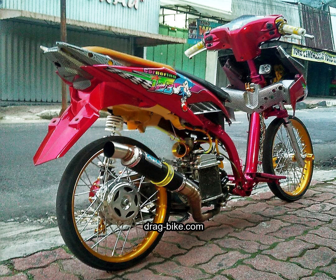 Modifikasi Vario 110 Street Racing