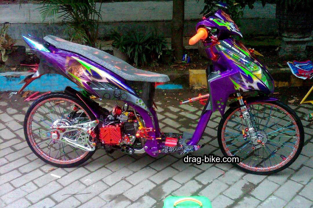 Modifikasi Vario Techno Ring 17 Jari Jari