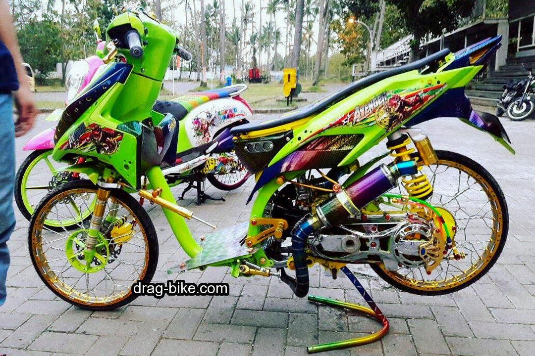 Modifikasi Vario Techno Street Racing