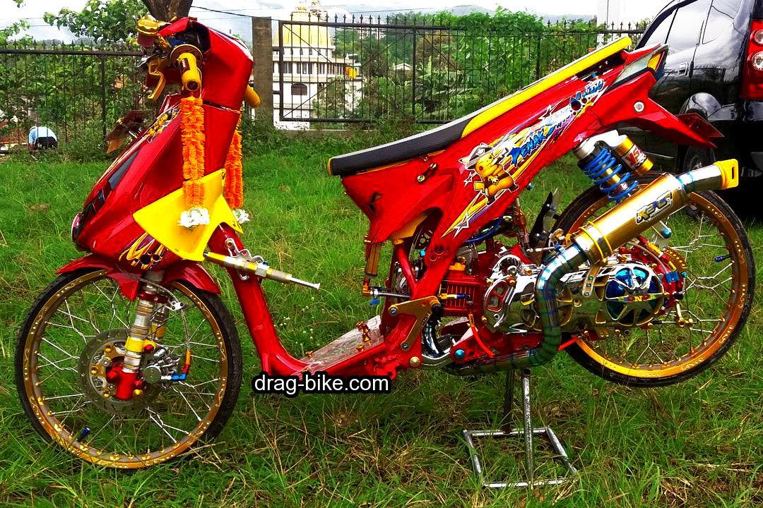 Motor Drag Beat Merah