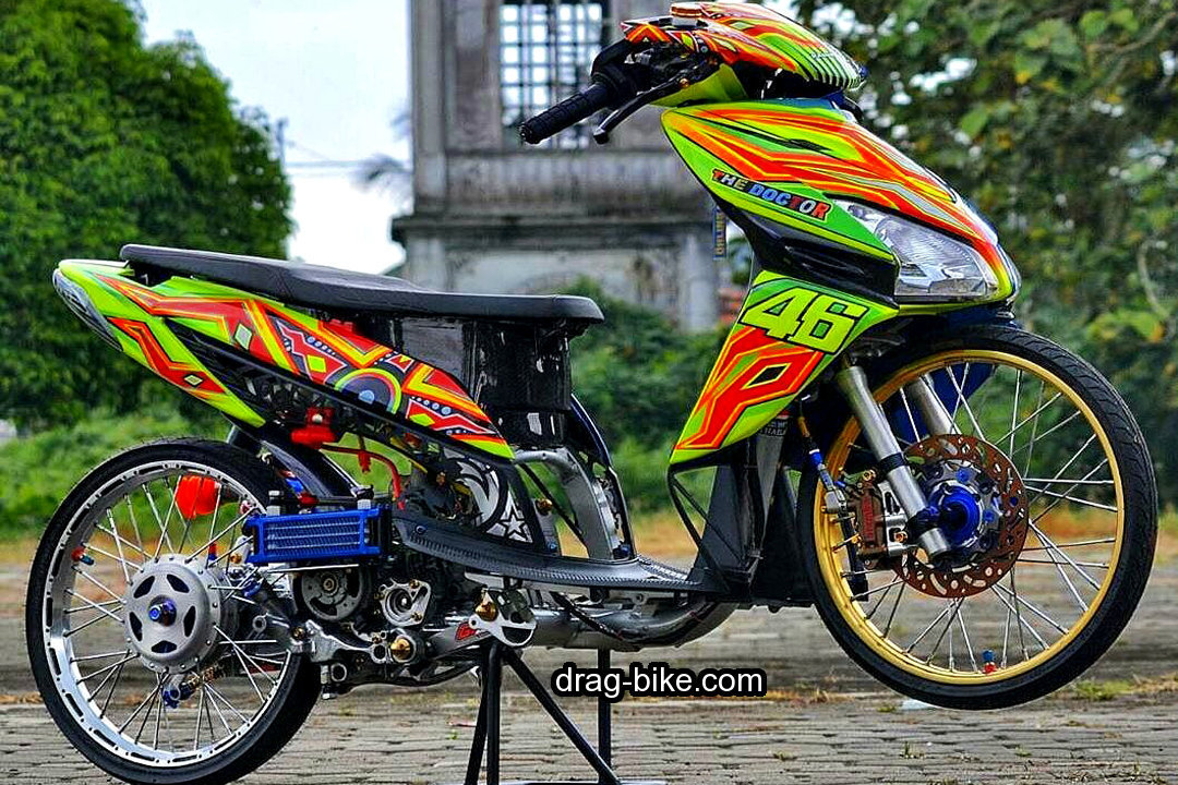 Motor Honda Vario Modif Drag Racing
