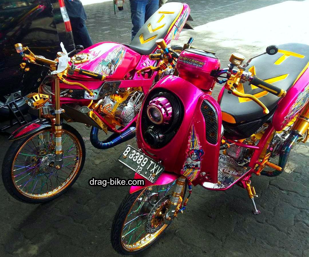 Foto Modifikasi Motor Scoopy Kontes