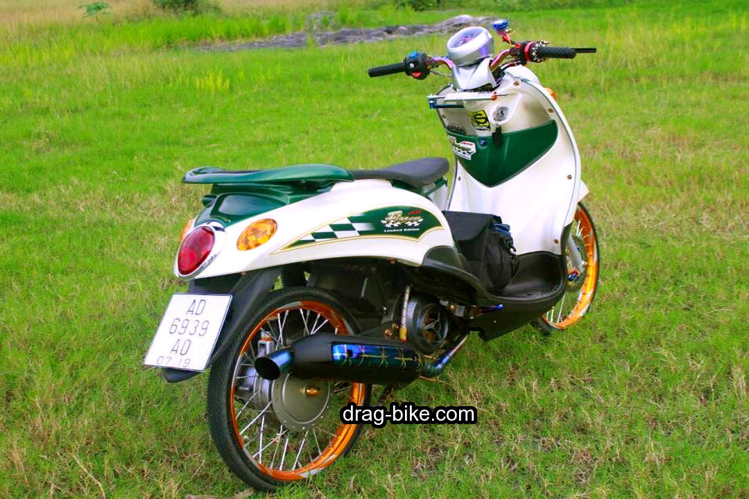 Gambar Motor Fino Modifikasi Sederhana