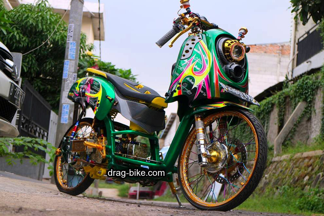 Honda Scoopy Modif Simple Ring 17