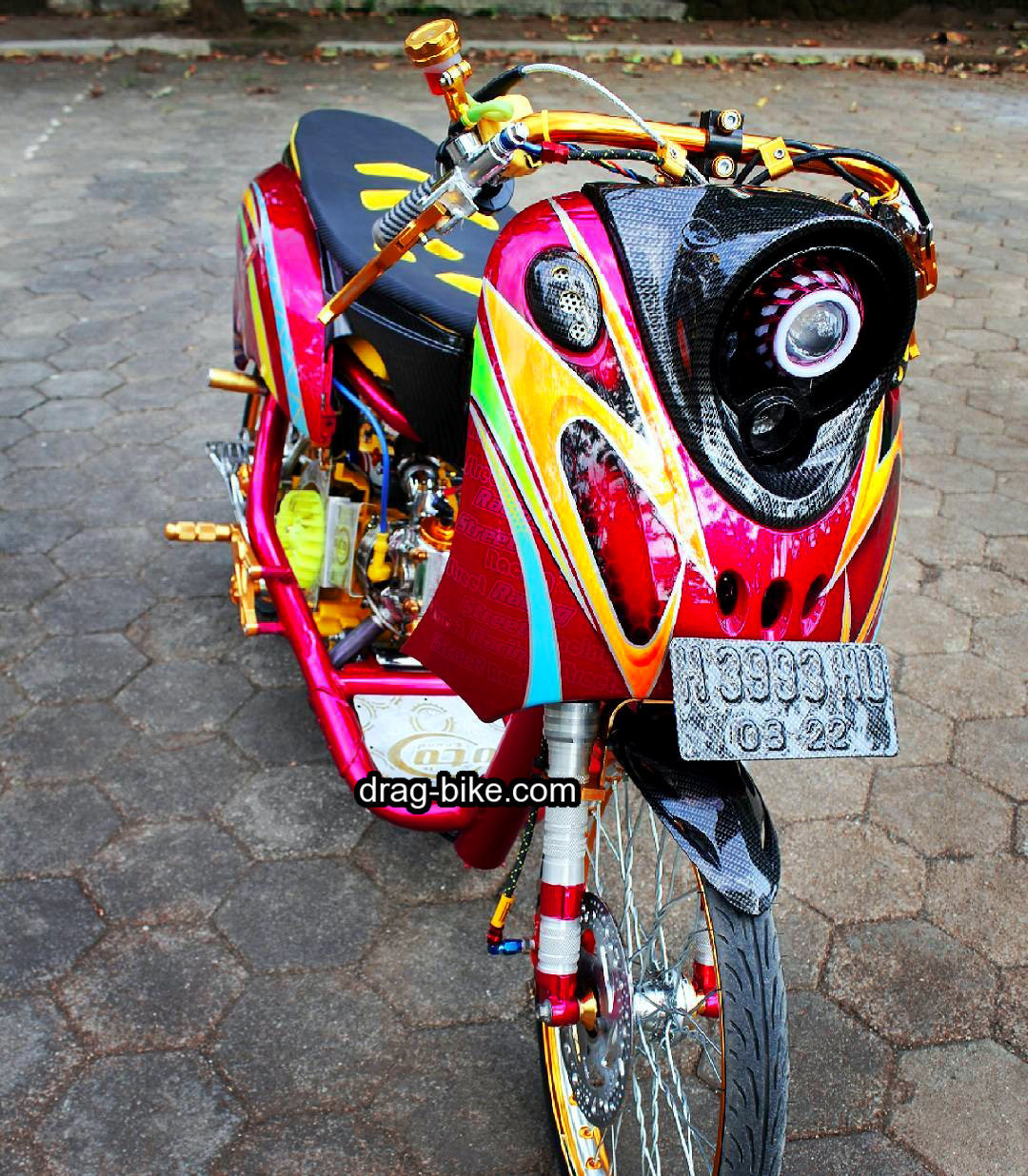 Modif Thailook Fino Mothai