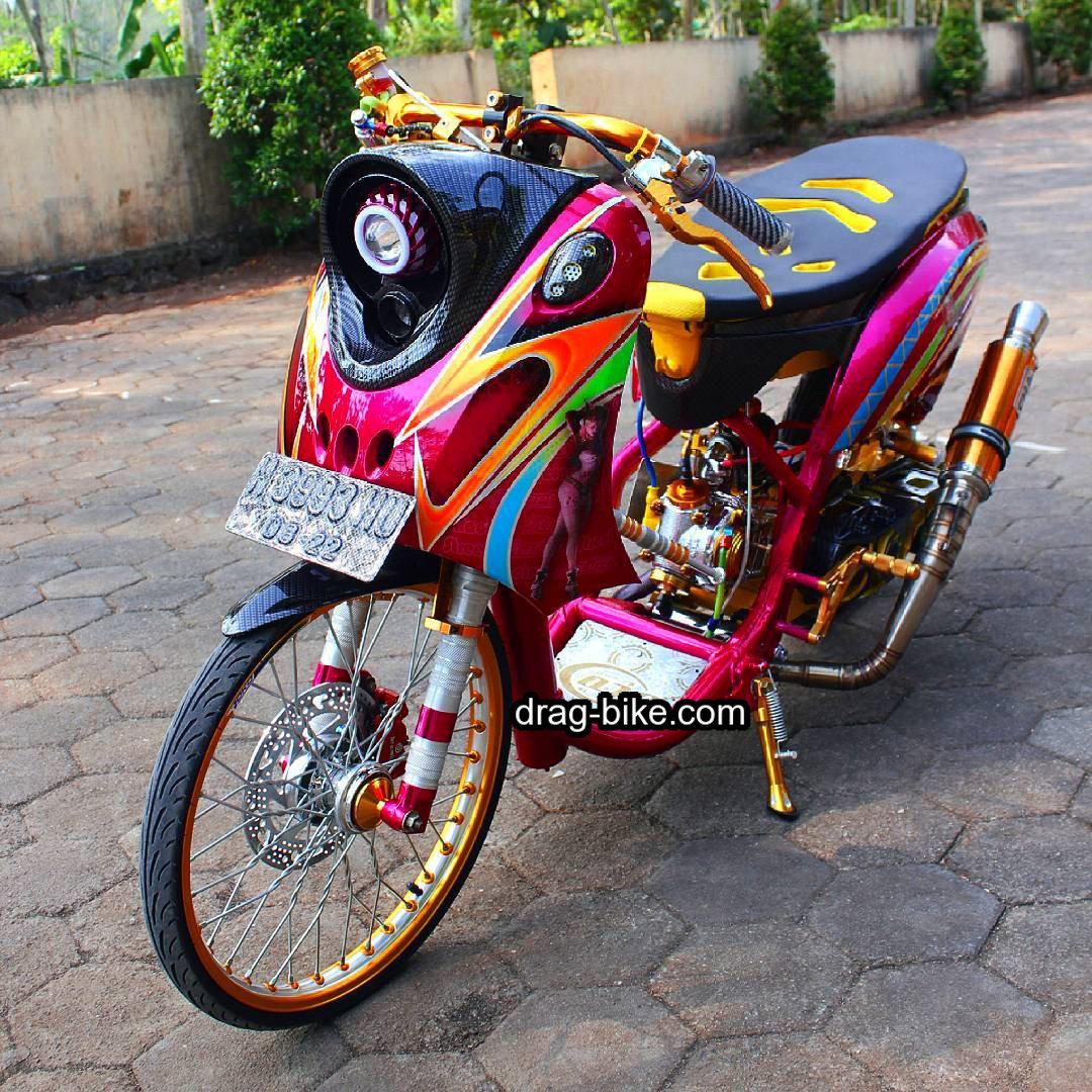 Foto ninja drag bike 14