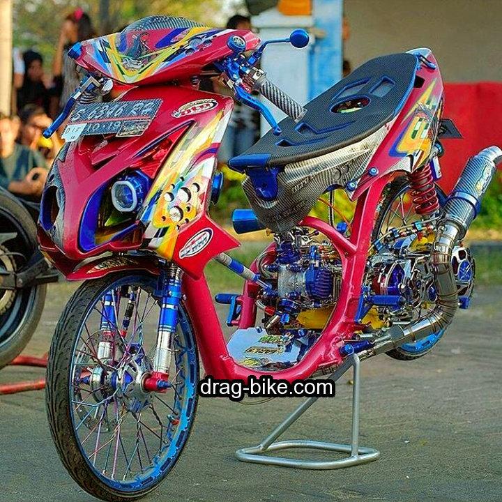 Modifikasi Mio Soul 2008 Street Racing