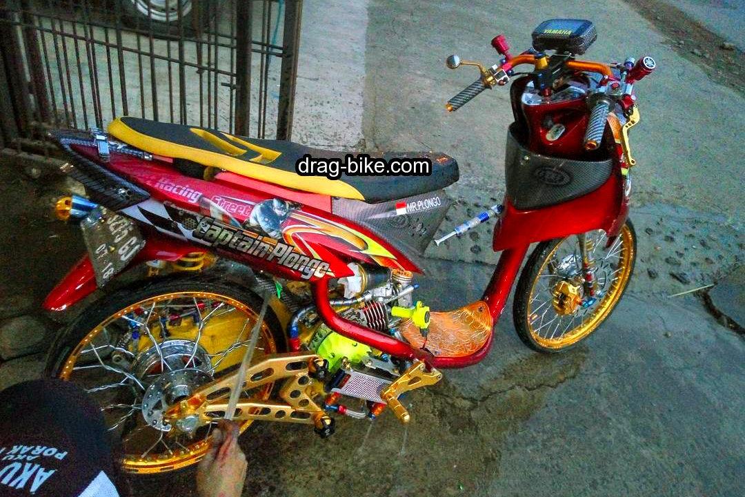 Modifikasi Mio Soul Street Racing Thailand