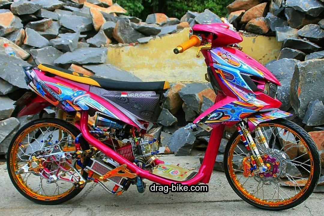 Modifikasi Mio Soul Thailook Street Racing Gt