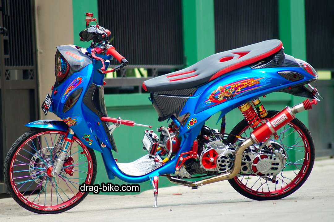 Modifikasi Motor Fino Street Racing