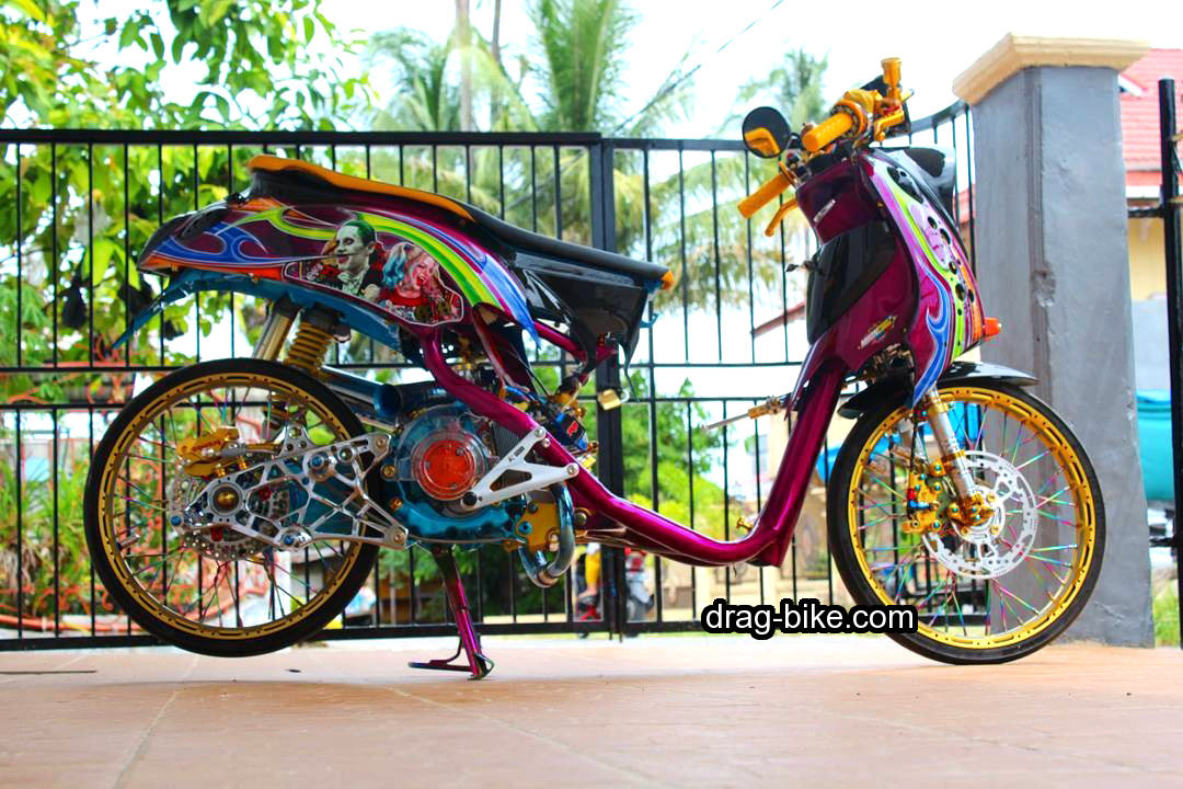 Modifikasi Motor Fino Thailook