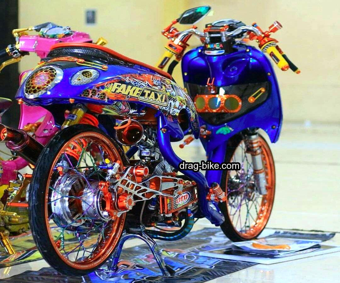 Modifikasi Motor Yamaha Fino Terbaru 2017
