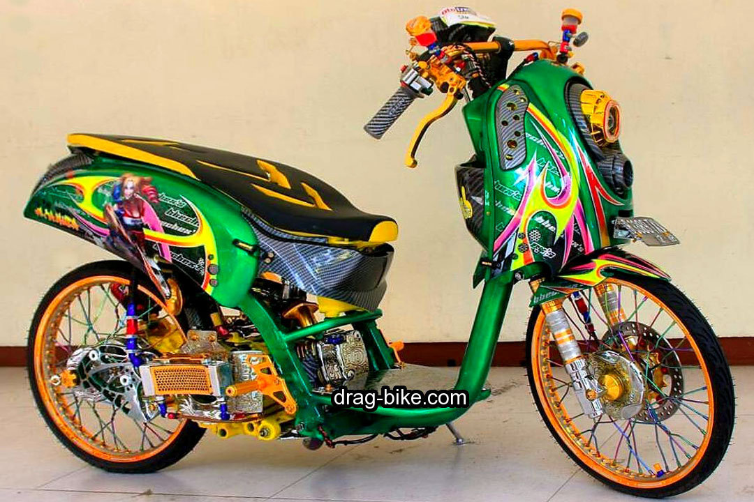 Modifikasi Scoopy Thailand