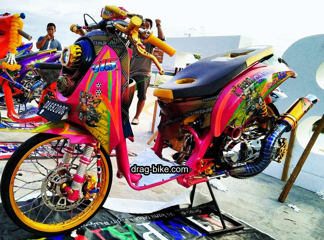Modifikasi Scoopy Street Racing