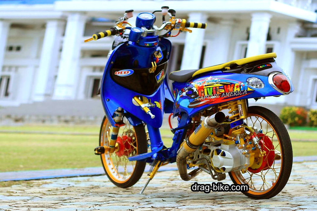 Motor Drag Fino Thailook Injection