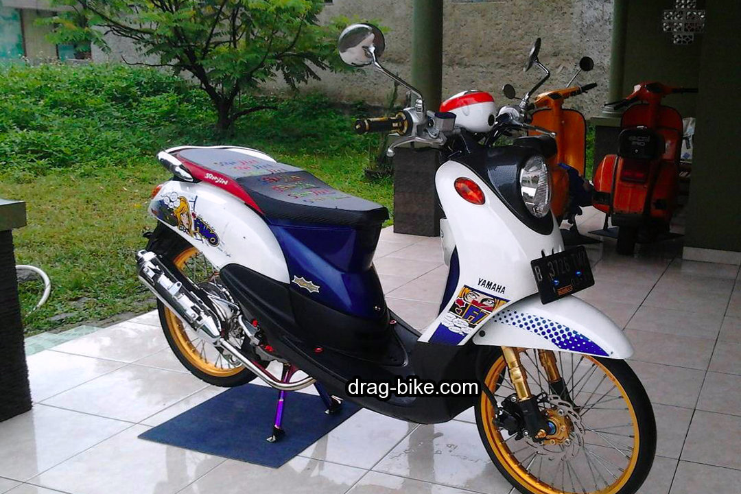 Motor Mio Fino Modif Simple