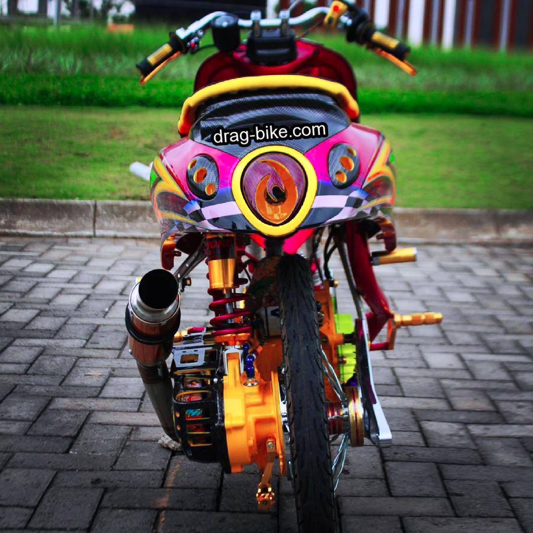 Yamaha Fino Modifikasi Thailook Style