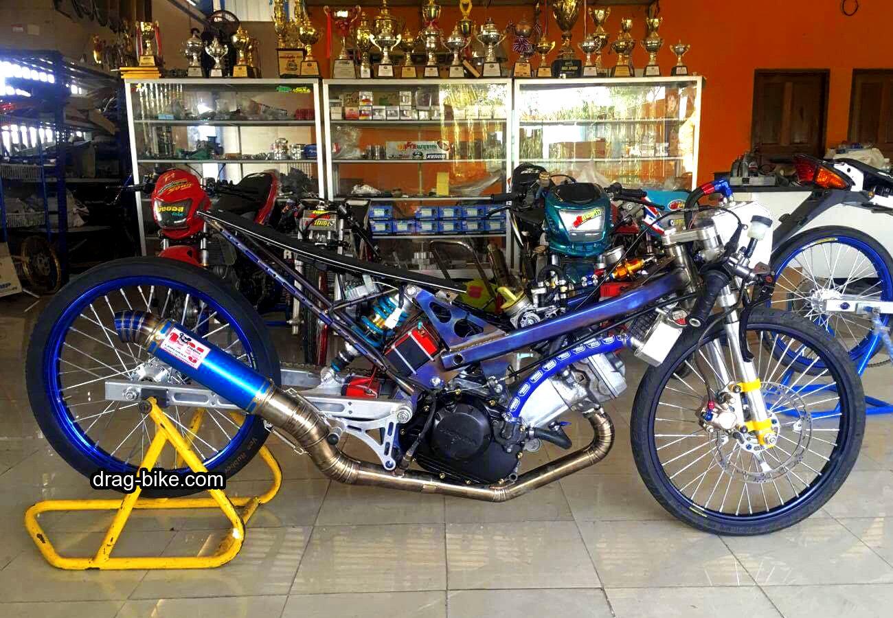 Gambar Motor Ninja Modifikasi Motorwallpapers Org Drag Bike Hd
