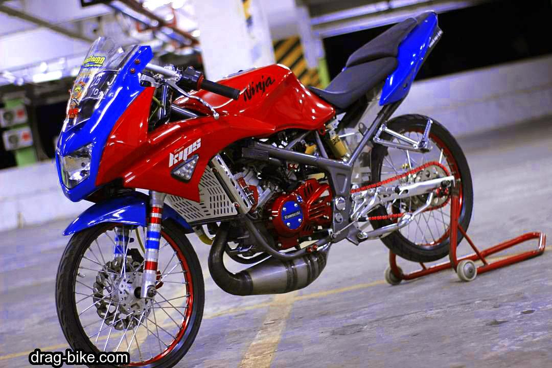 55 Foto Gambar Modifikasi NINJA RR Kontes Street Racing
